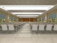 Conference Room 037 3D Model