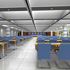 Conference Room 043 3D Model
