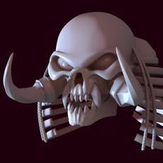 Orc Skull 3D Model