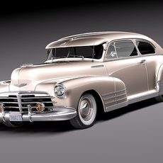Chevrolet Fleetline Aerosedan 1948 3D Model