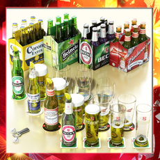 Beers - Full Collection  3D Model