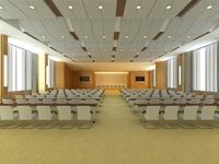 Conference Room 047 3D Model