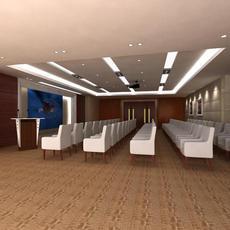 Conference Room 051 3D Model