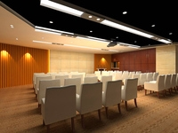 Conference Room 052 3D Model