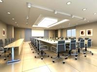 Conference Room 064 3D Model