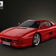Ferrari F355 F1 Berlinetta 1999 3D Model