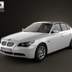 BMW 5 Series Sedan E60 2010 3D Model