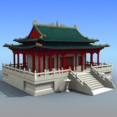 Chinese Architecture 03 3D Model