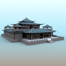 Chinese Architecture 05 3D Model