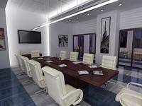Conference Room 076 3D Model