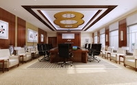 Conference Room 084 3D Model
