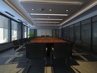 Conference Room 088 3D Model