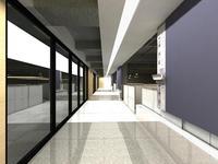 Corridor 003 3D Model