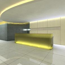 Corridor 004 3D Model