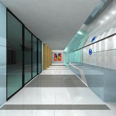 Corridor 006 3D Model