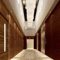 Corridor 009 3D Model