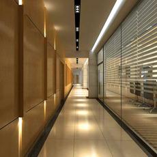 Corridor 017 3D Model
