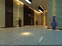 Corridor 020 3D Model