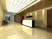 Corridor 030 3D Model