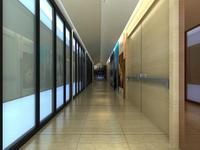 Corridor 032 3D Model