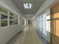 Corridor 034 3D Model