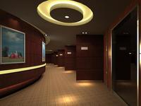 Corridor 035 3D Model