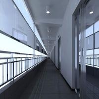Corridor 039 3D Model