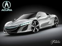 Acura NSX concept 2012 3D Model