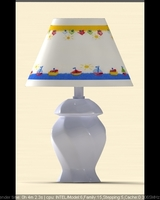 tablelamp for kid	 3D Model