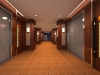 Corridor 041 3D Model