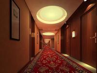 Corridor 042 3D Model