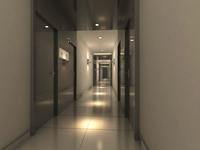 Corridor 043 3D Model
