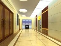 Corridor 046 3D Model