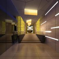 Corridor 050 3D Model
