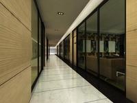 Corridor 055 3D Model