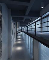 Corridor 057 3D Model
