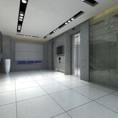 Elevator Space 02 3D Model