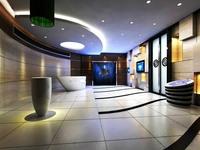 Elevator Space 001 3D Model
