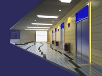Elevator Space 04 3D Model