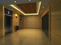 Elevator Space 05 3D Model