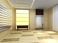 Elevator Space 10 3D Model