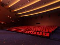 Grand Theatre 001 3D Model