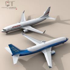 B737-800 3D Model