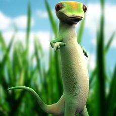 Geico Lizard 3D Model