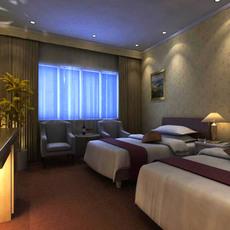 Guest room 002 3D Model