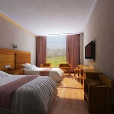 Guest room 003 3D Model