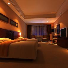 Guest room 011 3D Model