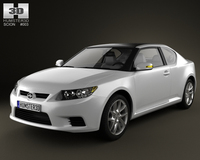 Scion tC 2012 3D Model