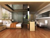 Guest room 014 3D Model