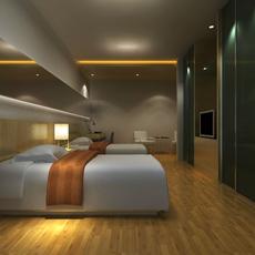 Guest room 016 3D Model